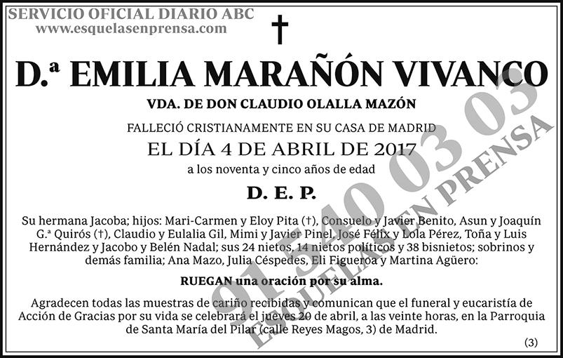 Emilia Marañón Vivanco